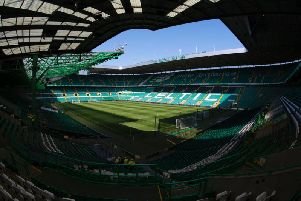 A general view of Celtic Park.