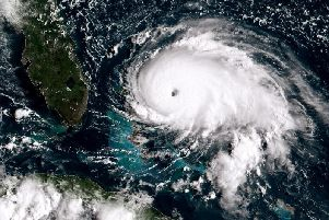 Dorian has devastated the Bahamas and is set to hit the east coast of Florida. Picture: NOAA via Getty Images