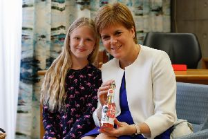 Molly Rose McLean met with Nicola Sturgeon earlier this week at the Scottish Parliament. Picture: Contributed
