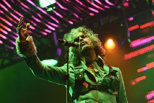 Wayne Coyne orchestrates bizzare but joyful spectacles live. Picture: Getty
