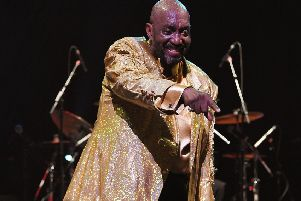 Otis Williams of The Temptations, whose concert in Malawi showed the band have very much still got it (Picture: Andrew H Walker/Getty)