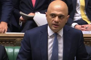 Sajid Javid failed to address the overriding concern of business. Picture: House of Commons/PA