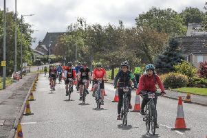 Pedal for Scotland took place this weekend.