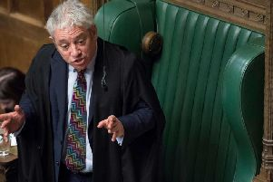 House of Commons Speaker John Bercow has announced he will stand down. Getty Images