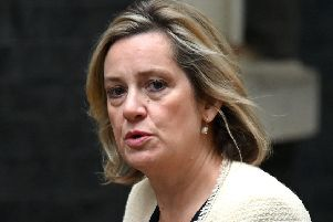 Amber Rudd was the most moderate member of Boris Johnson's cabinet. Picture: AFP/Getty