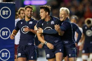 Scotland face Russia in the Rugby World Cup on October 9