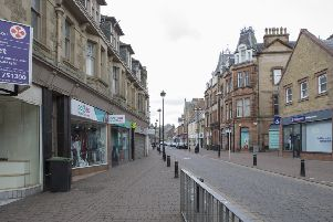 Channel Street in Galashiels.