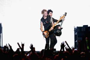 Green Day will be joined by Weezer and Fall Out Boy. Getty Images