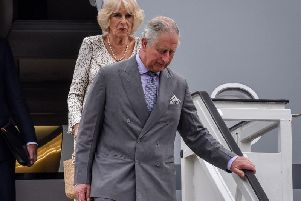 Charles and Camilla are set to visit a Scottish port which played an important role in preparations for D-Day. Picture: Getty Images