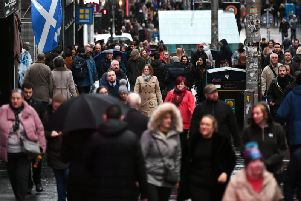 Scotland's population is at a record high - but its birthrate is at a record low. Picture: John Devlin