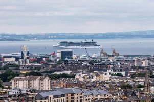 Last year, Edinburgh was named Western Europes top cruise destination 2018 for the first time. Picture: Peter Devlin