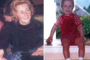 Renee MacRae and her three-year-old son Andrew disappeared in November 1976. PIC: PA.