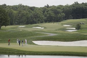 Donald Trump's golf course. Picture: AP