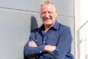 Norrie Rowan, now 67 and living in Edinburgh, won 13 caps for Scotland. Picture: Ian Georgeson