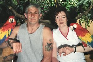 Gary Dunn and Denise Robertson met in 1999 and moved in together, bringing up their daughter.