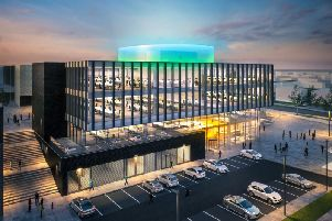 The Halo Enterprise and Innovation hub will support jobs, economic growth, skills development, access to employment opportunities, clean energy and housing. Picture: Contributed