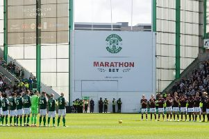 Hibs and Hearts face each other on Sunday at Easter Road. Picture: SNS