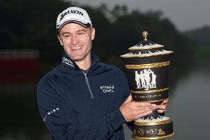 Russell Knox won the WGC-HSBC Champions in Shanghai in November 2015 and reckons he plays his best golf in the autumn. Picture: Ross Kinnaird/Getty Images