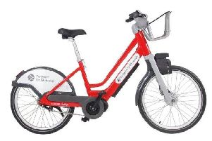 The electric bikes were due to be available within a year of the launch of the hire scheme. Picture: Serco