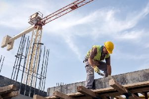 The second quarter of the year saw output in the construction sector contract by 2.2 per cent. Picture: TSPL