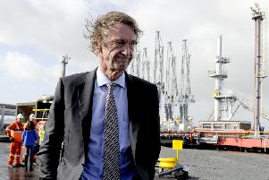 Ineos founder and chairman Sir Jim Ratcliffe. Picture: Michael Gillen