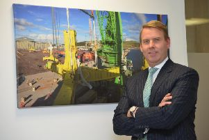 Chief executive Tim Cornelius is also eyeing plans for a major data centre. Picture: Jon Savage