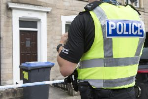 Police have made an arrest over the incident at a house in Stirling
