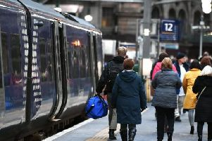 ScotRail's underlying punctuality is now more than 5 percentage points adrift. Picture: JPIMedia
