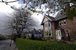 Wester Coates Avenue is among the most expensive streets in Edinburgh.
