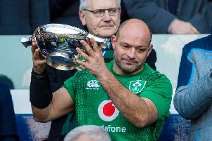 Rory Best has had a glittering career as Ireland captain and will be looking to silence critics in this World Cup. Picture: SRU/SNS
