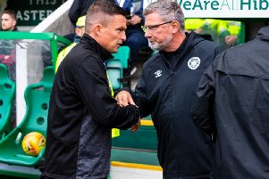 Paul Heckingbottom is now favourite, ahead of Craig Levein, for the sack. Picture: SNS