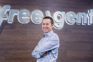 Molyneux established FreeAgent in 2007 and led it to a stock exchange float in 2016. Picture: DNAnderson.
