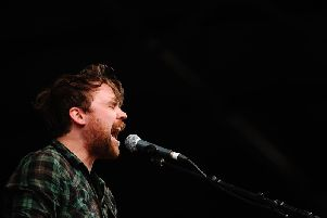 The memorial aimed to commemorate Scott Hutchison, who was found dead in May last year after he took his own life.Picture: Getty Images