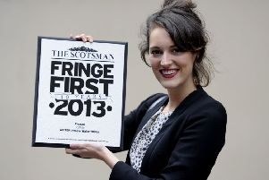 It all began for Phoebe Waller-Bridge with a Fringe First Award for Fleabag. Picture: Esme Allen
