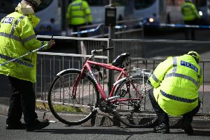 The rate of cyclists being seriously injured on Scottish roads has risen sharply. Picture: John Devlin
