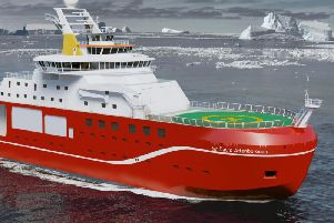 The vessel once dubbed Boaty McBoatface has been renamed the RRS Sir David Attenborough