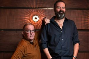 Ford Kiernan and Greg Hemphill for Still Game feature. Picture: John Devlin