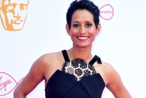 BBC presenter Naga Munchetty