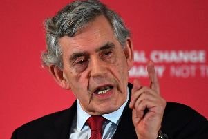 Gordon Brown will warn about the effects of a no-deal Brexit