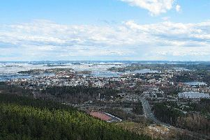 The town of Kuopio in Finland where the attack has happened