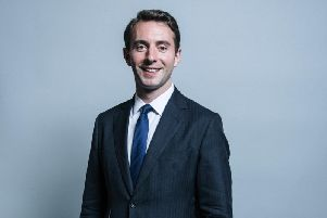 Luke Graham, MP for Ochil & South Perthshire, happened to be born south of the border, a fact he had no control over (Picture: Chris McAndrew/UK Parliament)