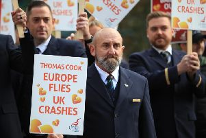Thomas Cook workers.