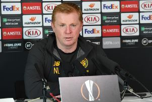 Neil Lennon has played down talk of revenge against Cluj. Picture: SNS