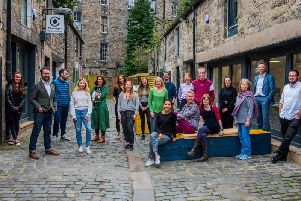 Four agencies have collaborated to launch social enterprise hub Montgomery Street Lane. Picture: Chris Watt