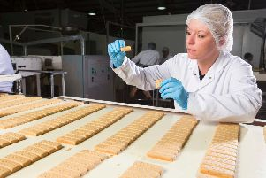 Operating profits recovered at Walkers Shortbread, but margins were still short. Picture: Walkers Shortbread