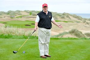 The US presidents Trump International Golf Links firm in Aberdeenshire has failed to turn a profit for the seventh year in a row. PIC: TSPL.