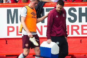 John Souttar picks up an injury.