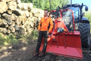 Agriforest founder Douglas Mathison is also aiming to create an in-house forestry ground preparation team. Picture: Contributed