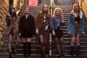 The production, which stars a largely unknown cast of young actresses, was filmed on location in Edinburgh and Fort William last year. Picture: Contributed