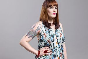 Ana Matronic of the Scissor Sisters. Photograph: Suki Dhanda